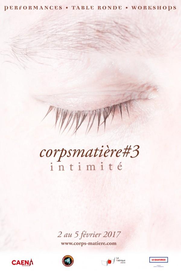 Affiche Corps Matière #3